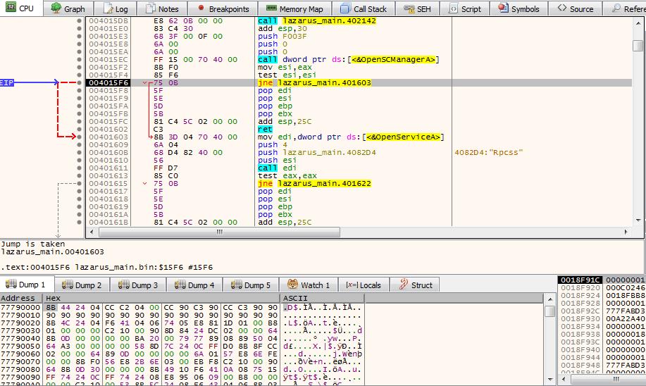 Analyzing North Korean Malware – Joanap/Brambul Dropper
